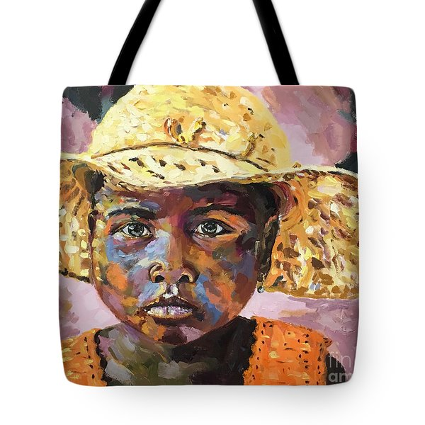 Madagascar Farm Girl Tote Bag