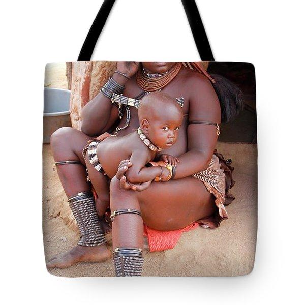 Namibia Tribe 9  Tote Bag