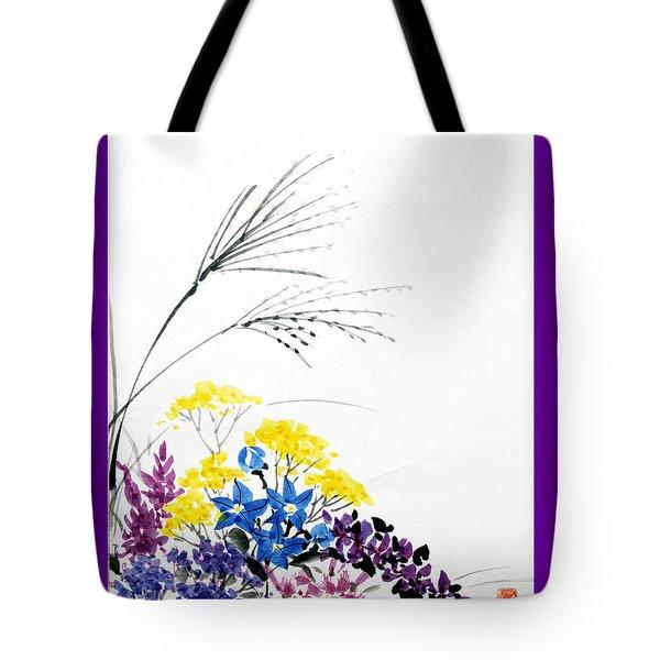 Nanakusa/ Autumn Seven Sisters Tote Bag