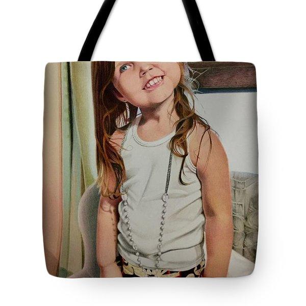 Nana's Necklace Tote Bag