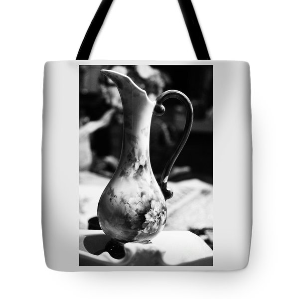Tote Bag featuring the photograph Nana's Vase by Cassandra Buckley