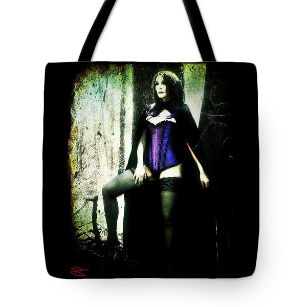 Tote Bag featuring the digital art Nancy 1 by Mark Baranowski