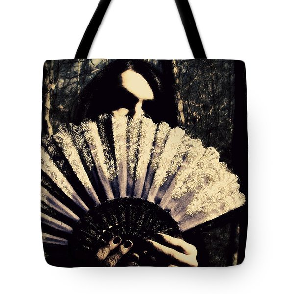 Tote Bag featuring the digital art Nancy 2 by Mark Baranowski