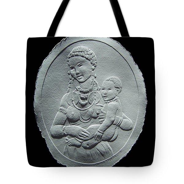 Nandi Tribe Woman And Child Tote Bag