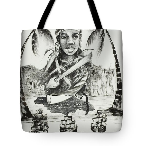 Nanny Of The Maroons Tote Bag