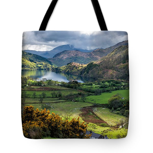 Nant Gwynant Valley Tote Bag
