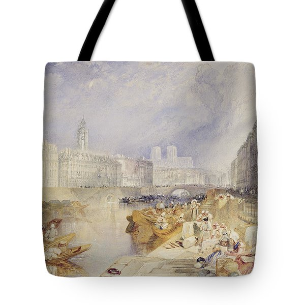 Nantes Tote Bag by Joseph Mallord William Turner