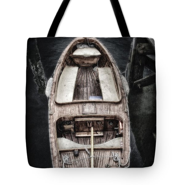 Nantucket Boat Tote Bag