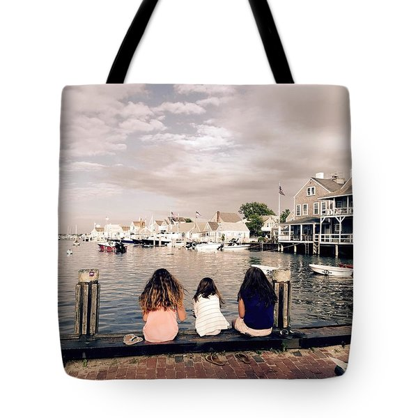 Nantucket Island Tote Bag