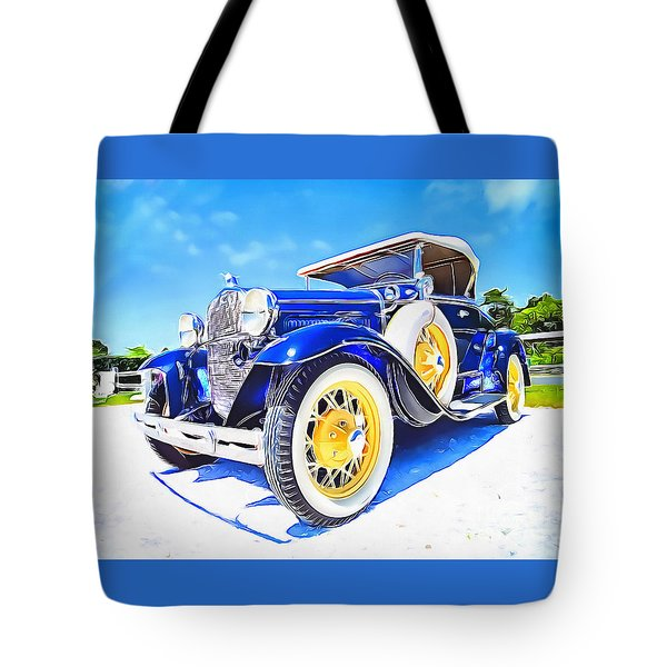 Nantucket Vintage Tote Bag