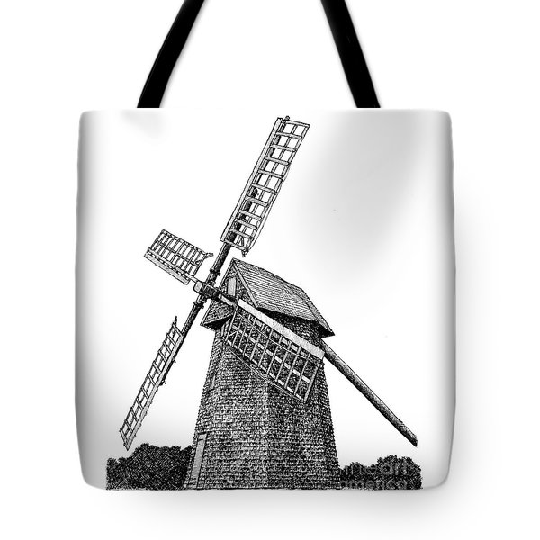 Nantucket Windmill Number One Tote Bag