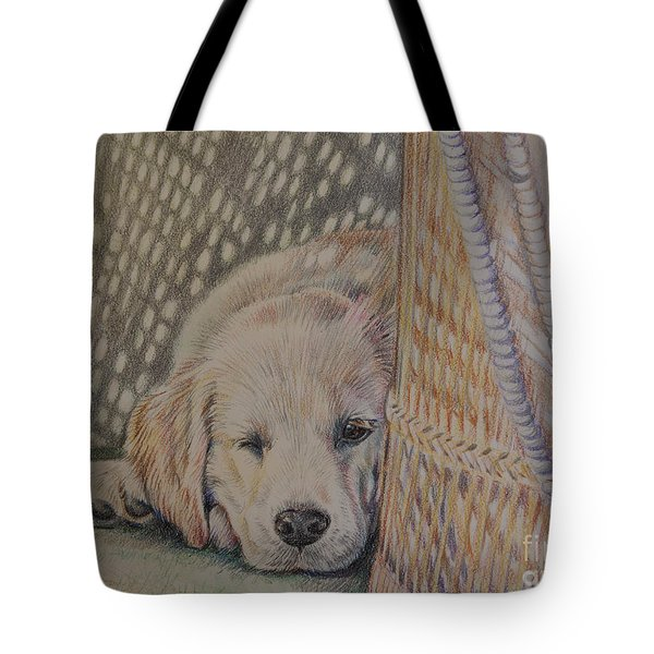 Nap Time Tote Bag by Gail Dolphin