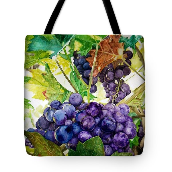 Napa Harvest Tote Bag by Lance Gebhardt