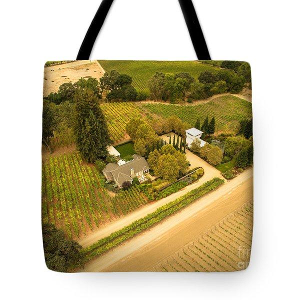 Napa Valley Tote Bag by David Junod