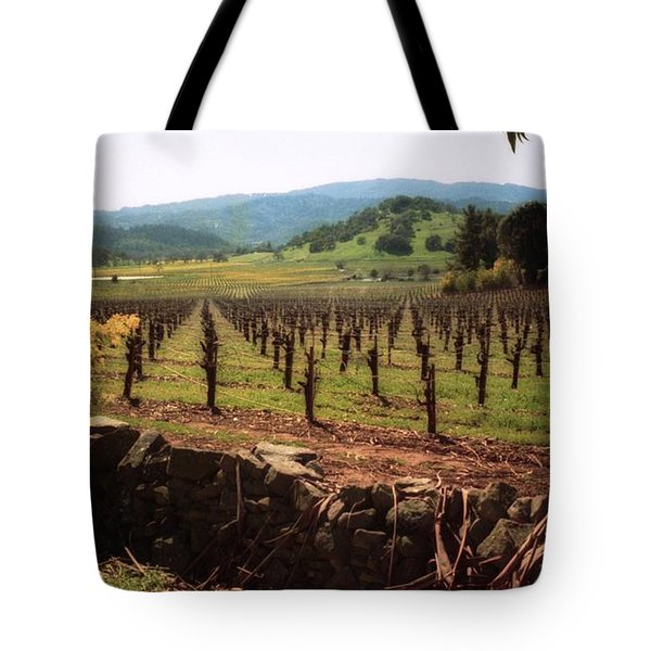 Napa Valley Hills Vineyard Tote Bag