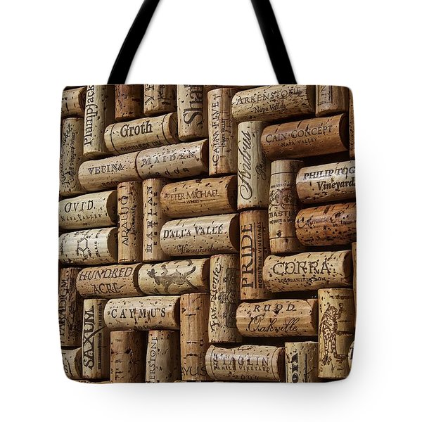 Napa Valley Wine Auction Tote Bag by Anthony Jones