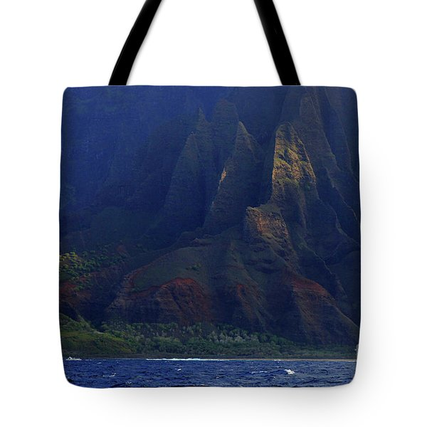 Napali Coast 2 Tote Bag by Bob Christopher