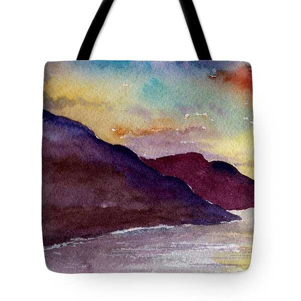 Napali Coast Kauai Hawaii Tote Bag