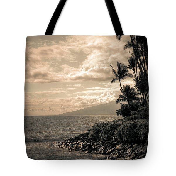 Tote Bag featuring the photograph Napili Heaven by Kelly Wade