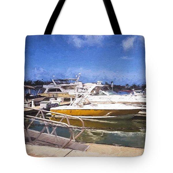 Naples Dock Tote Bag