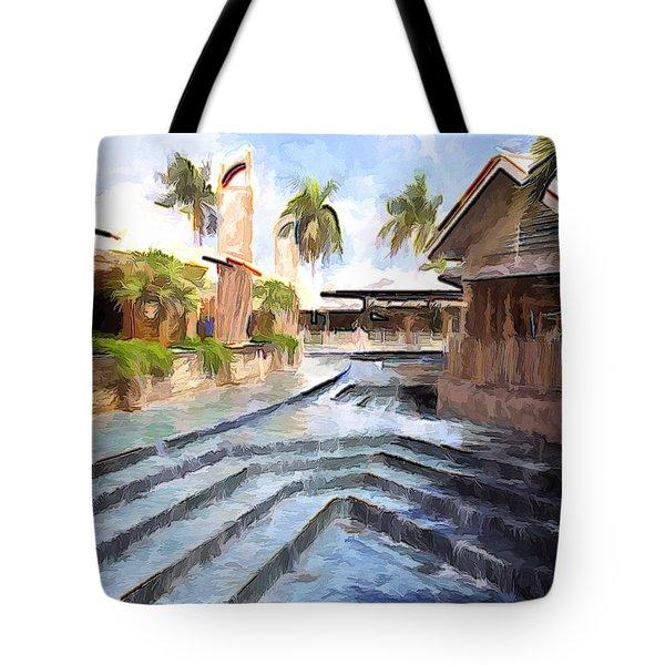 Naples Falls Shopping  Tote Bag
