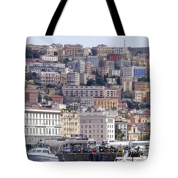 Naples In The Spring Tote Bag