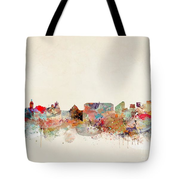 Tote Bag featuring the painting Naples Italy by Bri B