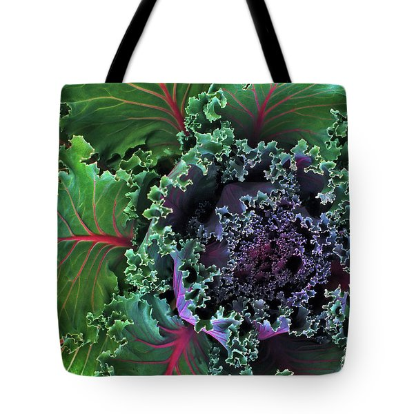 Naples Kale Tote Bag