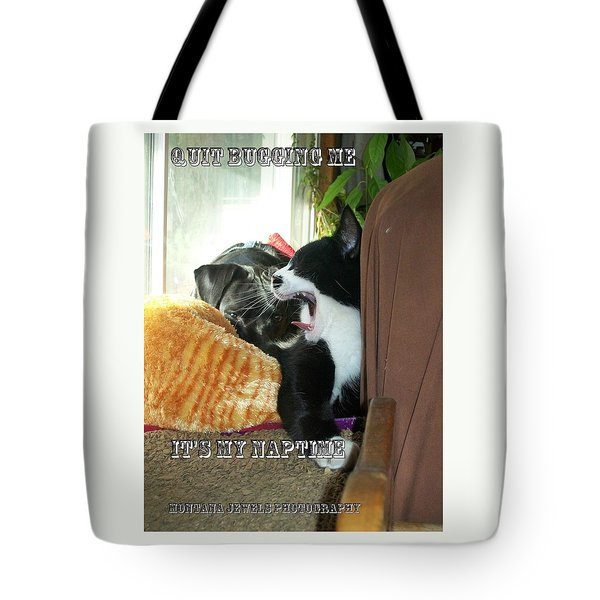 Naptime Tote Bag by Jewel Hengen