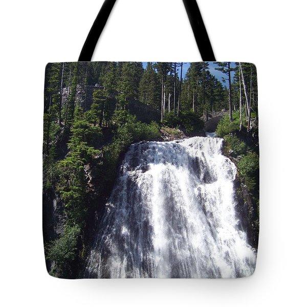 Tote Bag featuring the photograph Narada Falls by Charles Robinson