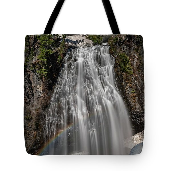 Narada Falls In Winter Tote Bag