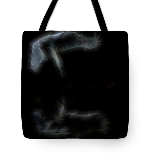 Narcissus Angel Tote Bag by William Horden