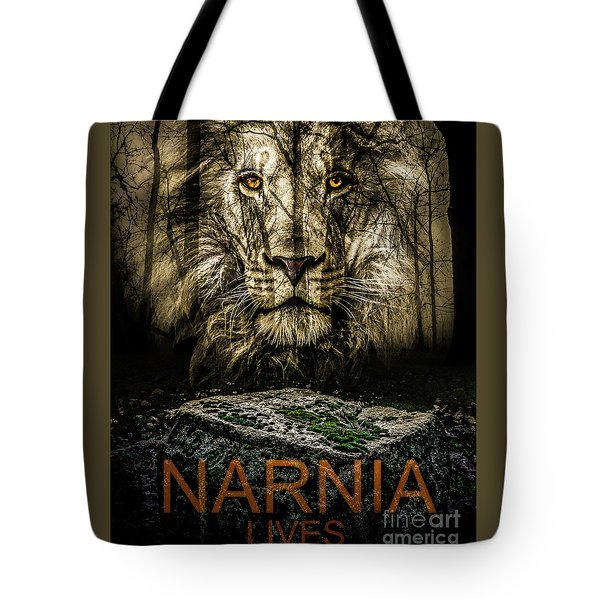 Tote Bag featuring the photograph Narnia Lives by Michael Arend
