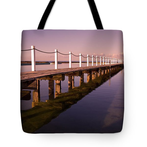 Narrabeen Sunrise Tote Bag by Sheila Smart Fine Art Photography