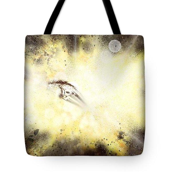 Narrow Escape Tote Bag