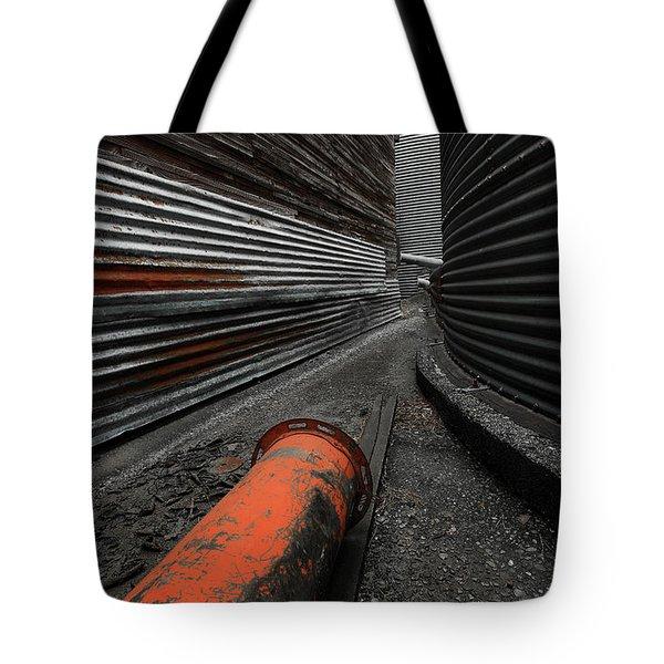 Narrow Passage Tote Bag