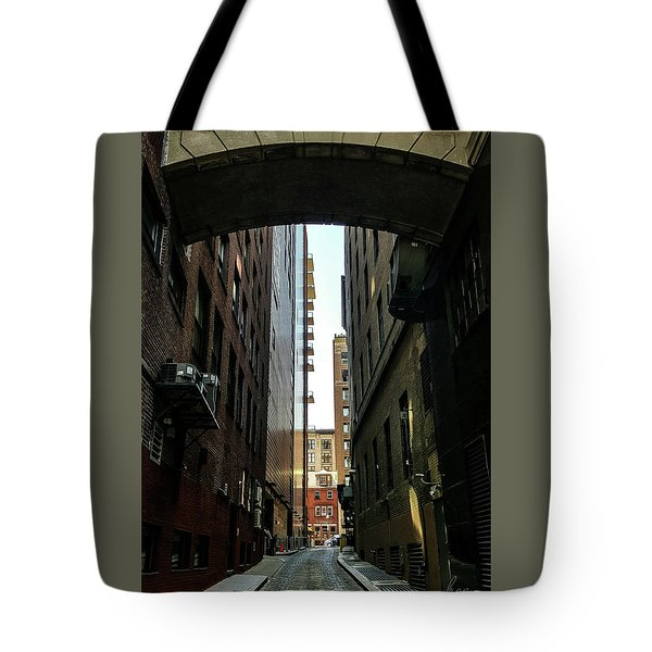 Narrow Streets Of Cobble Stone Tote Bag by Bruce Carpenter