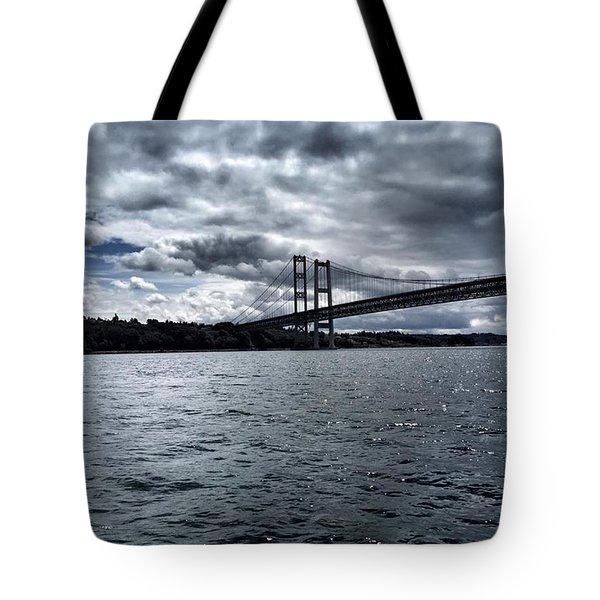Narrows Bridge Tote Bag