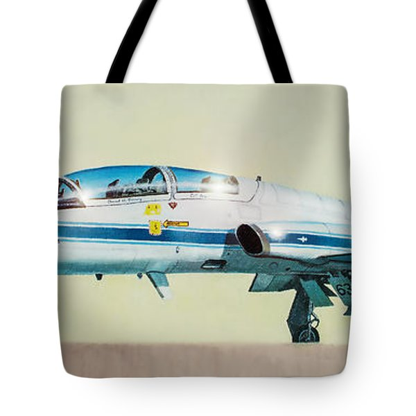 Nasa T-38 Talon Tote Bag