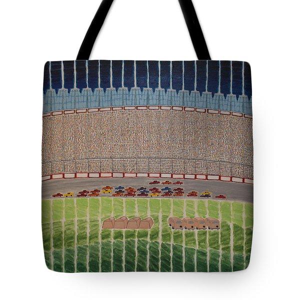 Nascar Race Tote Bag