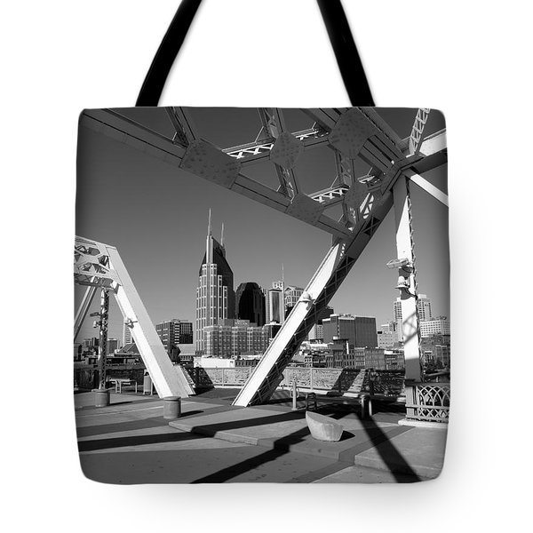 Tote Bag featuring the photograph Nashville by Keith McGill
