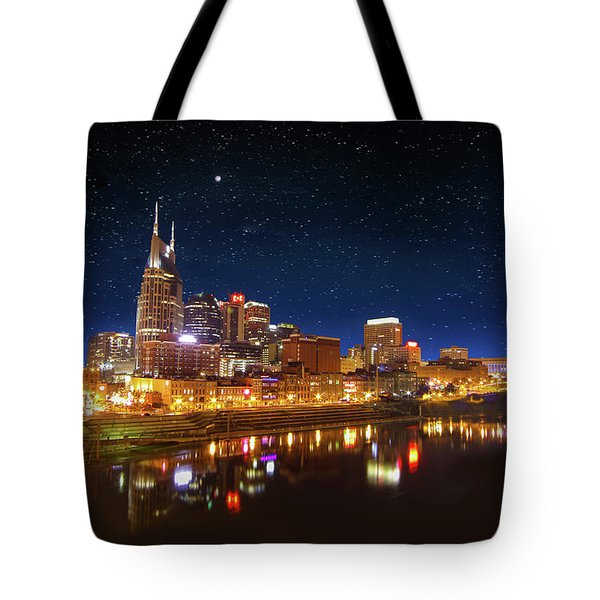 Nashville Nights Tote Bag