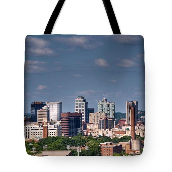 Nashville Skyline 1 Tote Bag by Douglas Barnett