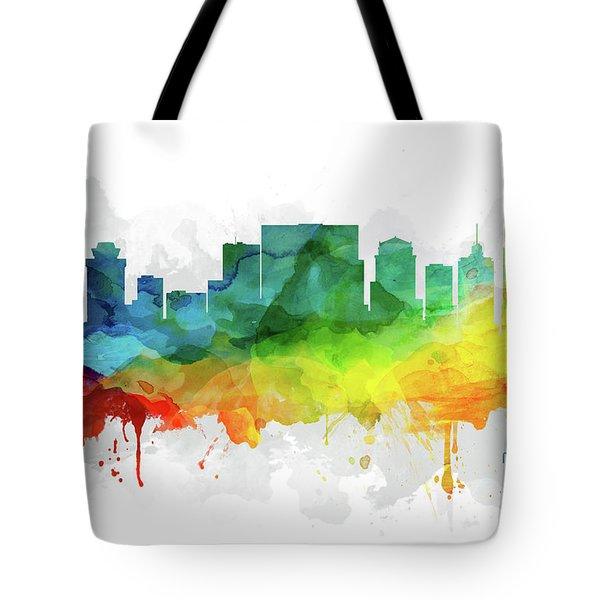 Nashville Skyline Mmr-ustnna05 Tote Bag