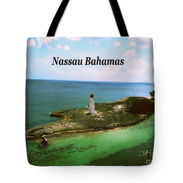Tote Bag featuring the photograph Nassau by Gary Wonning