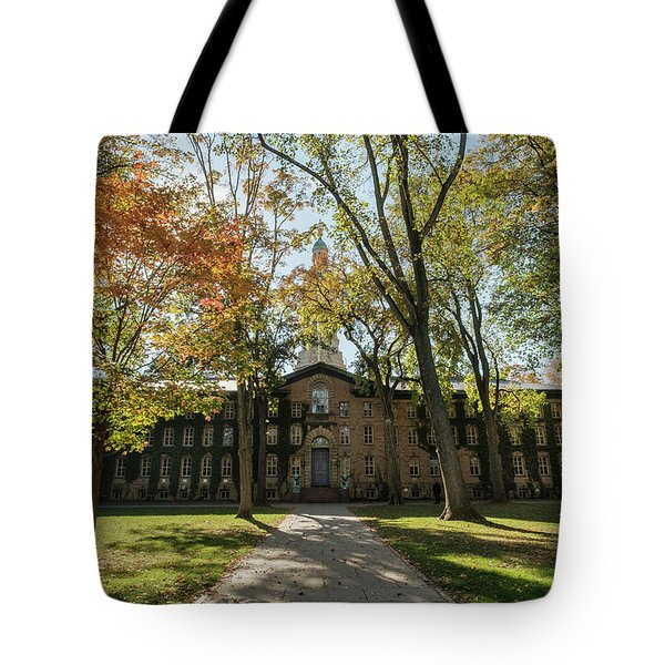 Nassau Hall Princeton University Tote Bag