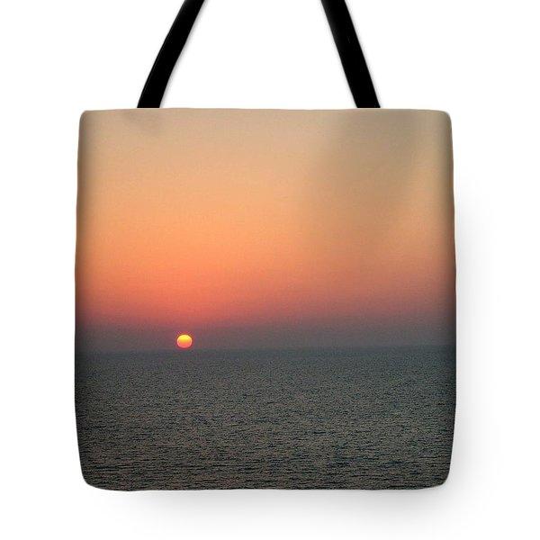 Nassau Sunset Tote Bag