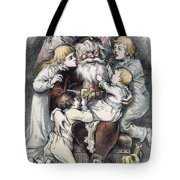 Nast: Christmas, 1879 Tote Bag by Granger