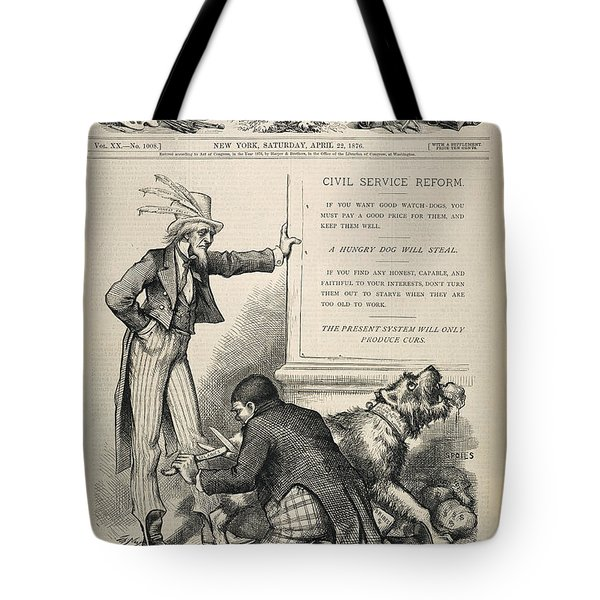 Nast: Civil Service Reform Tote Bag by Granger