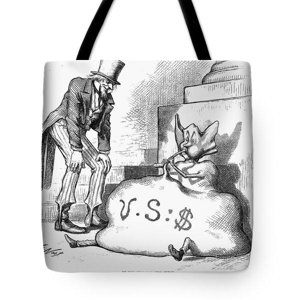 Nast: Inflation, 1873 Tote Bag by Granger